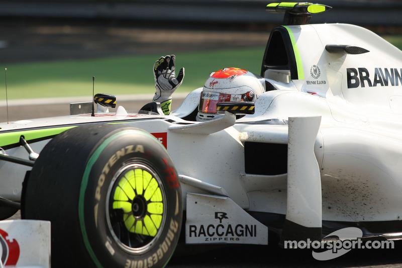 9. GP de Italia 2009: Rubens Barrichello (Brawn GP) en 1h16min21s706 (241.000 km / h)