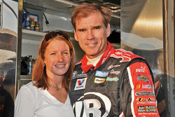 Newlyweds Erin Crocker and Ray Evernham