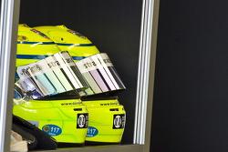 Helmets of Danny Watts, 23 Strakka Racing Ginetta - Zytek