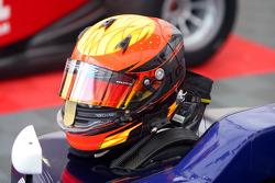 The helmet of Tobias Hegewald