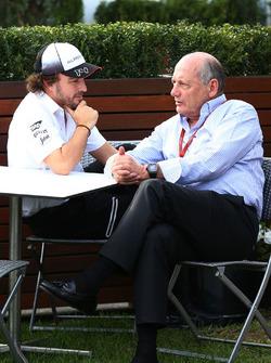 Fernando Alonso, McLaren en Ron Dennis, McLaren-baas