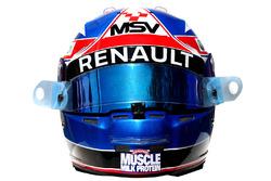 The helmet of Jolyon Palmer, Renault Sport F1 Team