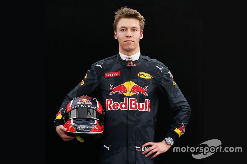 Даниил Квят, Red Bull Racing (2016)