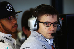 Peter Bonnington, Mercedes AMG F1 Race Engineer with Lewis Hamilton, Mercedes AMG F1 Team