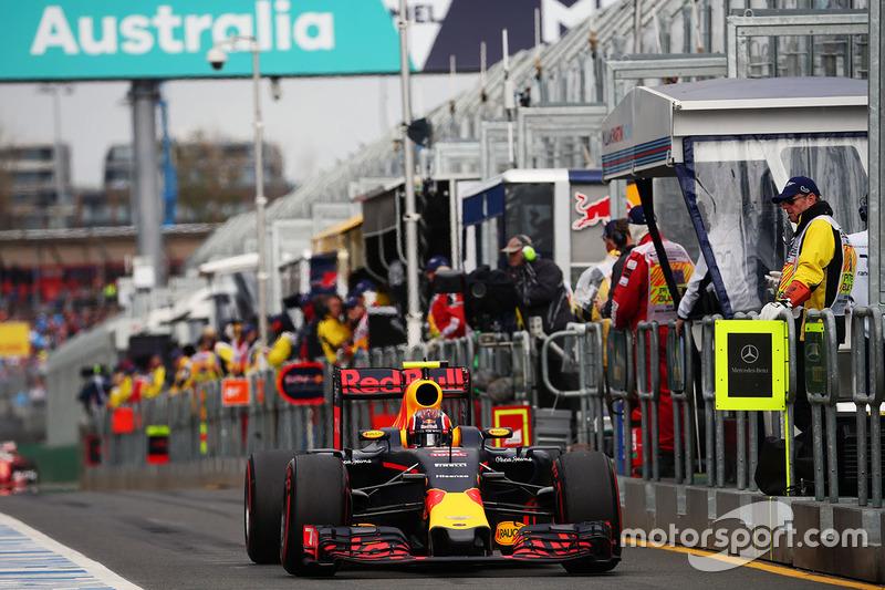 Данііл Квят, Red Bull Racing RB12