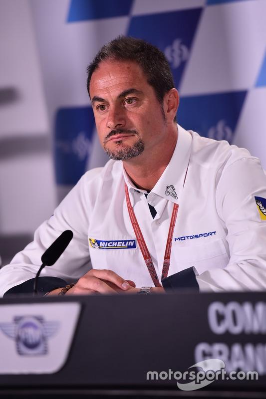 Piero Taramasso, Director de la dos ruedas Michelin Motorsport