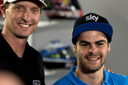 Colin Edwards with Romano Fenati, SKY Racing Team VR46, KTM