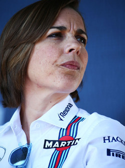 Claire Williams, Williams, Teamchef