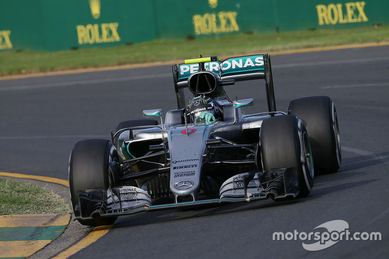 Australien, Melbourne: Nico Rosberg (Mercedes)