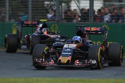 Carlos Sianz Jr.  und Max Verstappen, Scuderia Toro Rosso