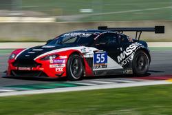 #55 Massive Motorsport, Aston Martin Vantage GT3: Casper Elgaard, Kristian Poulsen, Roland Poulsen, Nicolai Sylvest