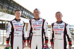 Toyota Racing: Mike Conway, Stephane Sarrazin and Kamui Kobayashi