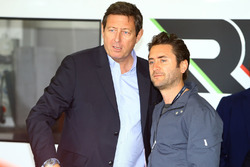 Gerard Neveu, CEO de WEC con Toni Calderón, RGR Sports Director deportivo y comercial