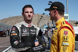 Alexander Rossi, Herta - Andretti Autosport, Honda; Ryan Hunter-Reay, Andretti Autosport, Honda