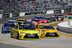 Kyle Busch, Joe Gibbs Racing Toyota und Matt Kenseth, Joe Gibbs Racing Toyota