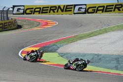 Jonathan Rea, Kawasaki Racing Team et Tom Sykes, Kawasaki Racing Team