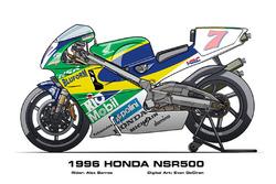 NSR500 de Barros em 1996