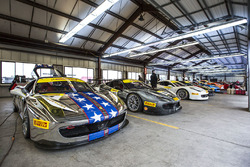 Los Ferrari listos para ir