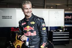 David Coulthard, a Red Bull Racing ománio bemutatóján