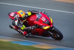 #18 Kawasaki: Stéphane Egea, Sébastien Suchet, Randy Pagaud