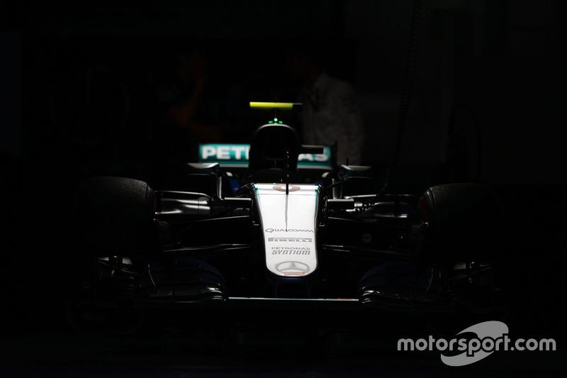 Mercedes AMG F1 W07 Hybrid de Nico Rosberg