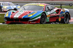 #71 AF Corse Ferrari 488 GTE: Davide Rigon, Sam Bird