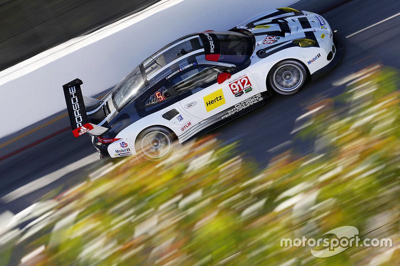 4. #912 Porsche Team North America Porsche 911 RSR: Earl Bamber, Frédéric Makowiecki