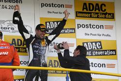 Podium: #63 GRT Grasser-Racing-Team, Lamborghini Huracán GT3: Rolf Ineichen mit Gottfried Grasser, Team Principal Grasser Racing Team