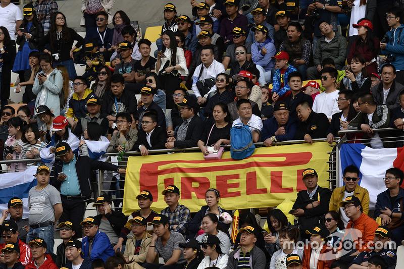 Fans en las gradas