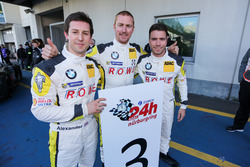 third place #23 ROWE Racing, BMW M6 GT3: Alexander Sims, Philipp Eng, Maxime Martin