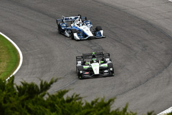 Conor Daly, Dale Coyne Racing Honda, Max Chilton, Chip Ganassi Racing Chevrolet