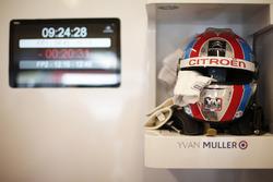 Helm von  Yvan Muller, Citroën World Touring Car Team, Citroën C-Elysée WTCC