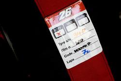 Pneu tendre Michelin Dani Pedrosa, Repsol Honda Team