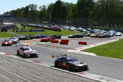 Start, #84 HTP Motorsport, Mercedes-AMG GT3: Maximilian Buhk, Dominik Baumann, Jazeman Jaafar