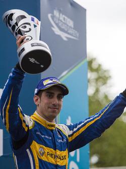 Podium: derde Sébastien Buemi, Renault e.Dams