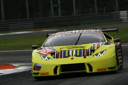 #69 ARC Bratislava, Lamborghini Huracan GT3: Miro Konopka, Andrzej Lewandowski, Teodor Myszkowski