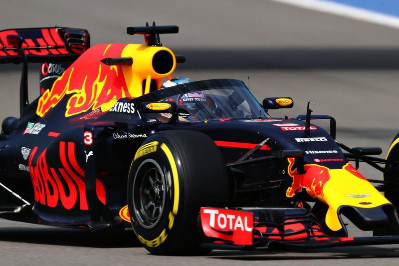 Daniel Ricciardo, Red Bull Racing RB12 mit dem Aeroscreen