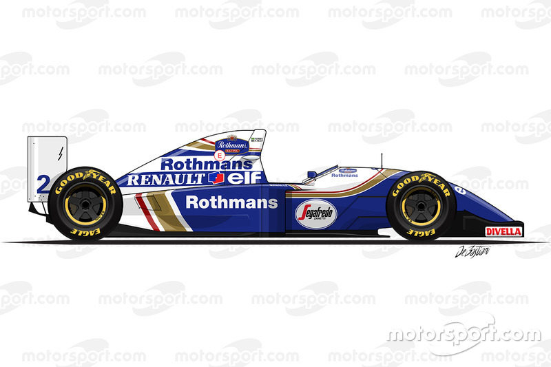 Williams FW16 conducido por Ayrton Senna (1994)