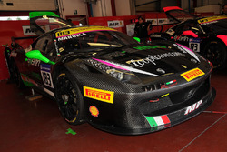 #183 Ineco – MP Racing Ferrari 458: Manuela Gostner