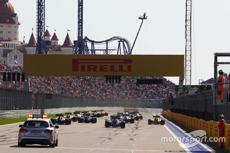 F1 Los horarios del GP de Rusia 2017 de F1