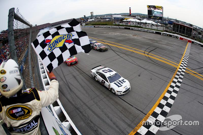 Brad Keselowski venceu a segunda corrida do ano em Talladega