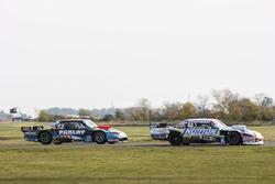 Martin Basso driving Martin Serrano, Coiro Dole Racing Dodge, Nazareno Lopez driving Esteban Gini, Nero53 Racing Torino