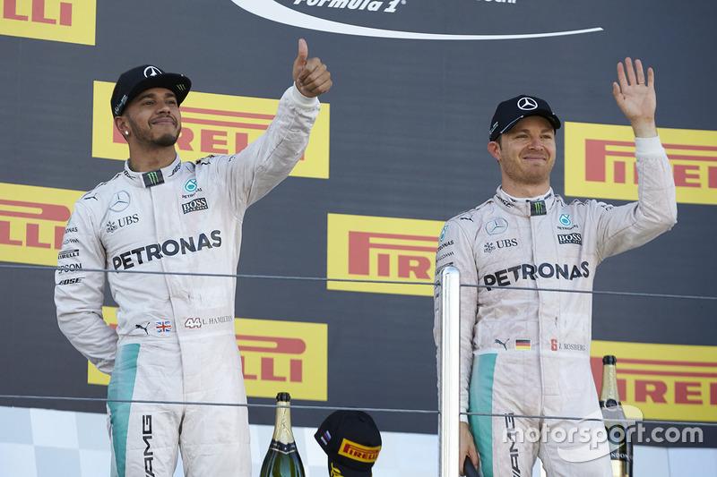 90-Gran Premio de Rusia 2016 (2º), Mercedes