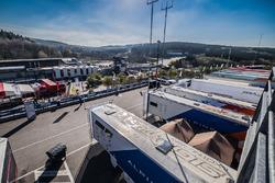 Das Fahrerlager in Spa-Francorchamps