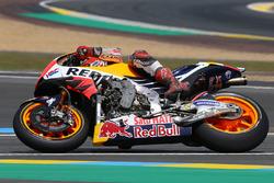 Marc Márquez, Repsol Honda Team con daños por caída