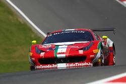 #55 AF Corse, Ferrari 458 GT3: Claudio Sdanewitsch, Stéphane Lemeret