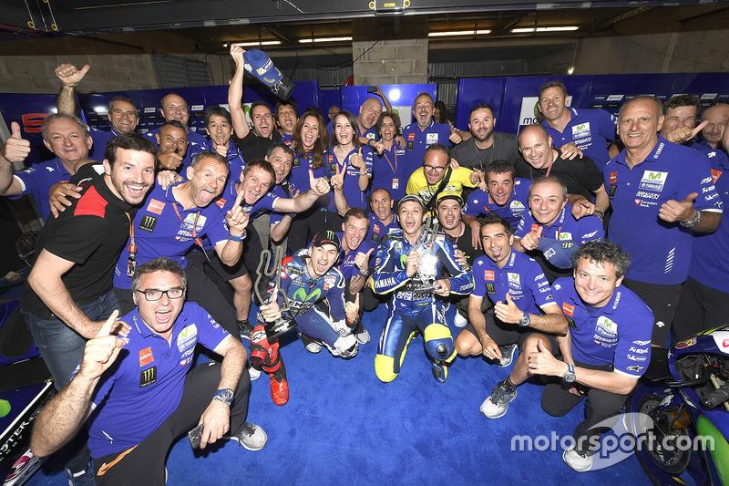 GP de Francia 2016 - Victoria de Lorenzo por delante de Rossi