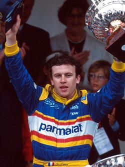 Podyum: yarış galibi Olivier Panis, Ligier