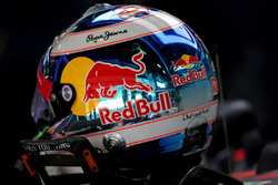 Helmet of Daniel Ricciardo, Red Bull Racing