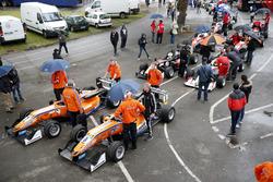 Prestart, Mikkel Jensen, kfzteile24 Mテシcke Motorsport, Dallara F312 - Mercedes-Benz, David Beckmann, kfzteile24 Mテシcke Motorsport, Dallara F312 - Mercedes-Benz